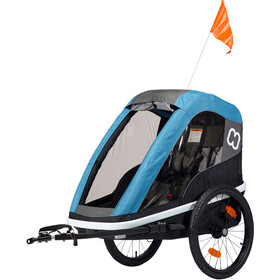 Hamax Avenida One Bike Trailer black/teal